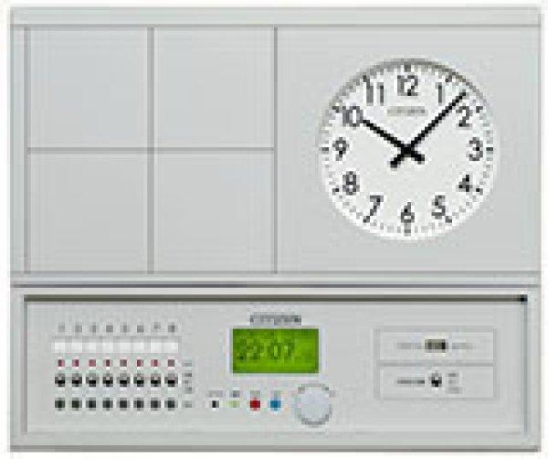 画像1: 設備時計 シチズン 親時計 地デジ プログラム タイマー付 USBメモリー 屋内用 KM-72TU-1P 1回線 (1)