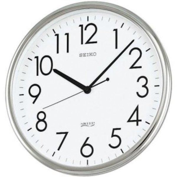 画像1: SEIKO.掛け時計.薄型.電池寿命5年.オフィスタイプ(クオーツ) (1)