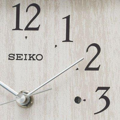 画像1: seiko.電波クロック.置時計「BZ237A」