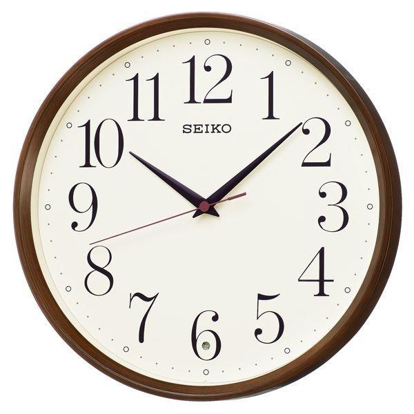 画像1: SEIKO 電波掛け時計 ナチュラルスタイル 丸型 (1)