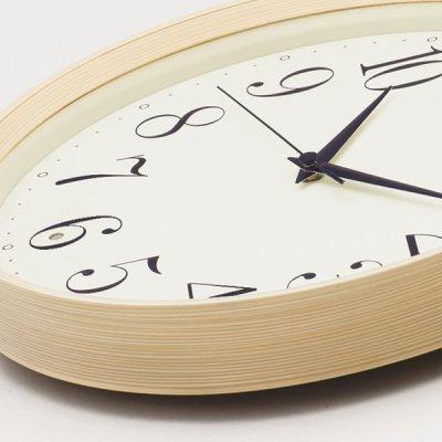 画像2: SEIKO 電波掛け時計 ナチュラルスタイル 丸型