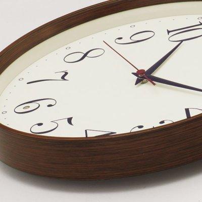 画像1: SEIKO 電波掛け時計 ナチュラルスタイル 丸型