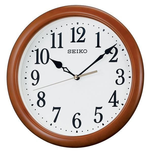 画像1: SEIKO.クオーツ掛け時計.丸型.インテリアクロック (1)