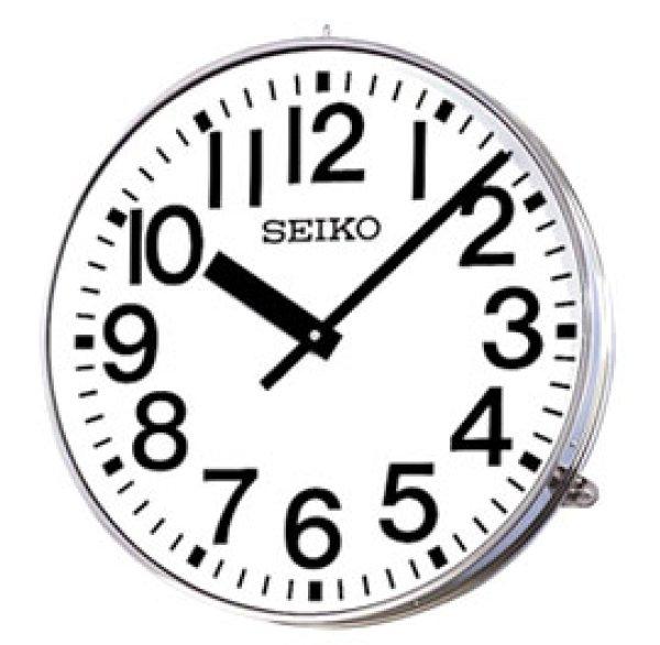 画像1: アウトドアクロック.大型.防水.屋外型.壁掛時計.交流式システム時計 (1)