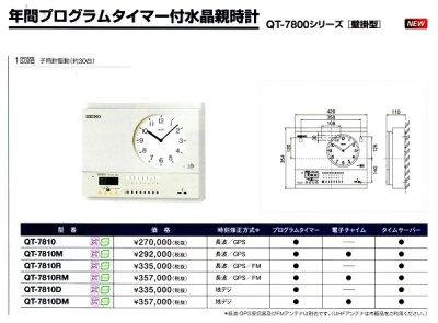 画像3: 設備時計 セイコー 年間プログラムタイマー付 水晶親時計 子時計約60台 壁掛け型