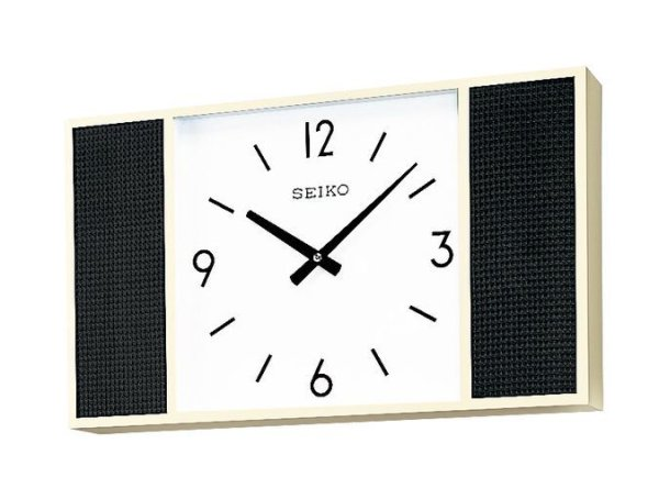 画像1: SEIKO 親子時計 室内用子時計 スピーカー付 壁掛型 (受注生産品) (1)