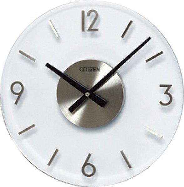 画像1: 設備時計 シチズン 親子時計 子時計 AC電源 屋内半埋込型 丸型 300mm (1)