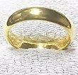 画像3: 結婚指輪 K24指輪  純金リング 無垢 甲丸 無地リング ブライダルリング 4.5mm幅均一 (3)