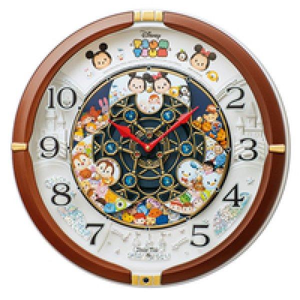 画像1: SEIKO ディズニー クオーツ掛け時計 からくり #送料無料 (1)