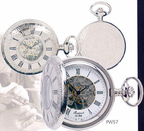 画像1: Rapport.懐中時計.提げ時計.ポケットウオッチ.ハーフハンター (手巻 / イギリス) (1)