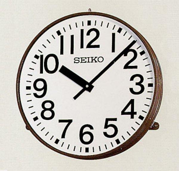 画像1: アウトドアクロック.防水.壁掛け時計.交流式.屋外型.電波修正式 (1)