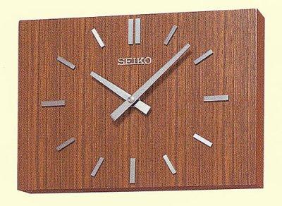 画像1: 設備時計 セイコータイムシステム 親子時計 室内用子時計 前面風防無 壁掛型 交流式