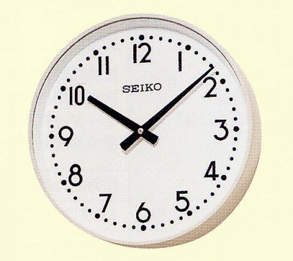 画像1: 設備時計 セイコータイムシステム 親子時計 室内用子時計 壁掛型 丸型 交流式 (1)