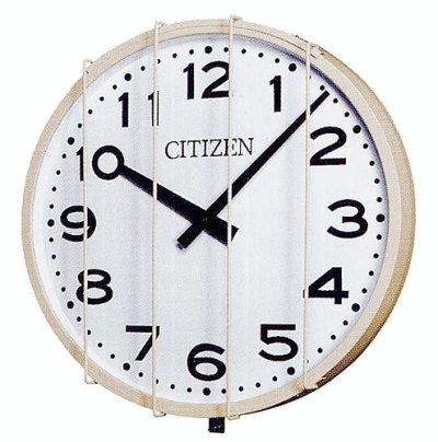画像1: 屋外時計.防水.壁掛け.大型.親子時計.交流式..子時計