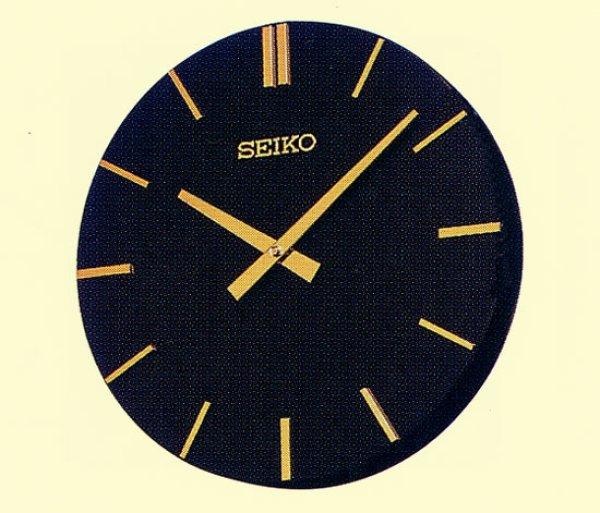 画像1: SEIKO 親子時計 室内用子時計 前面風防無 壁掛型 受注生産品 (1)