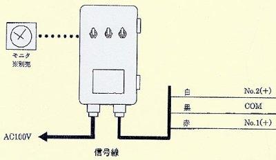 画像3: 設備時計 SEIKO 親子時計 屋内用子時計 .両面時計 壁面ブラケット型 角型